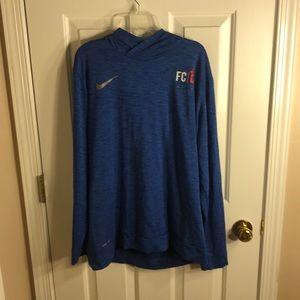 Nike T-shirt hoodie FC Cincinnati soccer